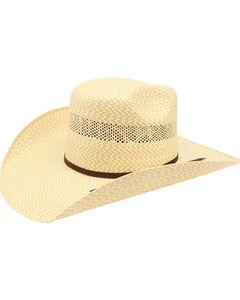 Ariat Men's 20X Twister Americana Straw Hat , , hi-res