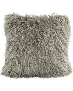 HiEnd Accents Mangolian Faux Fur Pillow, , hi-res