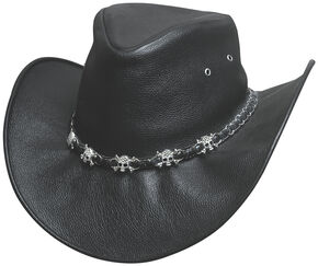 Bullhide Hats Men's Smoke Western Hat, Black, hi-res