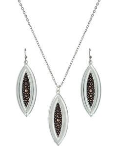Montana Silversmiths River Pebbles at Sunset Jewelry Set, , hi-res