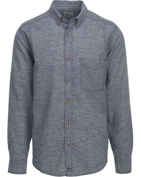 Woolrich Men's Eco Rich Hemp Blend Shirt , Indigo, hi-res