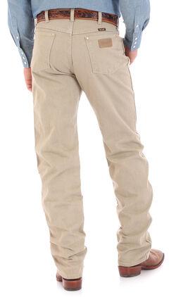 Wrangler Cowboy Cut Prewashed Khaki Original Fit Jeans, , hi-res