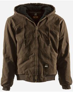 Berne Original Washed Hooded Jacket - Quilt Lined - XLT and 2XT, , hi-res