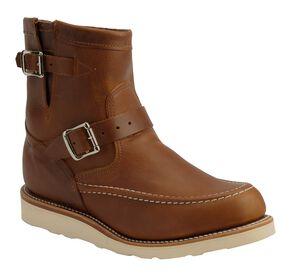 Chippewa Renegade Highlander Harness Boots - Round Mocc Toe, Tan, hi-res