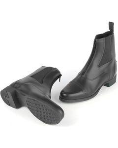 Ovation Kids' Finalist Zip Paddock Boots, , hi-res
