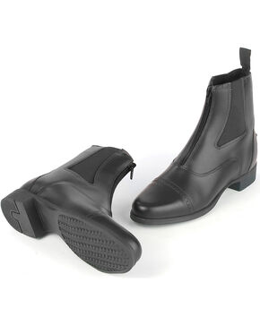 Ovation Men's Finalist Zip Paddock Boots, Black, hi-res