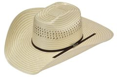 Twister Americana Poly Rop Straw Cowboy Hat, , hi-res
