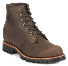 """Chippewa Bay Apache 6"""" Lace-Up Work Boots - Steel Toe, , hi-res"""