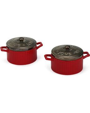 Big Sky Carvers Big Shot Covered Soup Bowl Set of 2, Red, hi-res