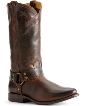 Frye Women's Wyatt Harness Boots, Dark Brown, hi-res