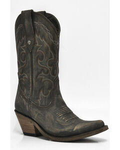 Liberty Black Women's Vintage Canela Western Cowgirl Boots - Pointed Toe , , hi-res