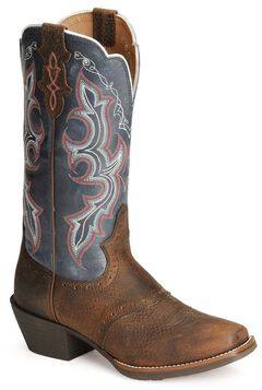 Justin Stampede Punchy Cowgirl Boots, , hi-res