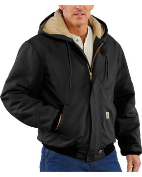 Carhartt Flame Resistant Work Jacket, Black, hi-res