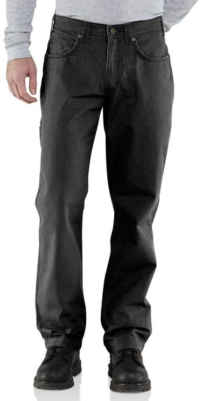 Carhartt Ripstop Cell Phone Pants, Black, hi-res