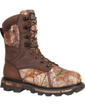 Rocky Arktos Waterproof Insulated Camo Outdoor Boots - Round Toe, Camouflage, hi-res
