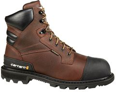 "Carhartt 6"" Brown CSA Work Boot - Safety Toe, , hi-res"