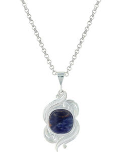 Montana Silversmiths Women's Midnight Winds Necklace , , hi-res