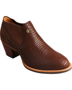 Twisted X Brown Fashion Cowgirl Boots - Round Toe, Brown, hi-res