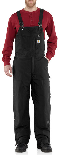 Carhartt Men's Quick Duck Jefferson Bib Overalls - Big & Tall, , hi-res