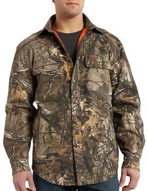 Carhartt Men's Wexford Realtree Xtra® Camo Shirt Jacket, Camouflage, hi-res