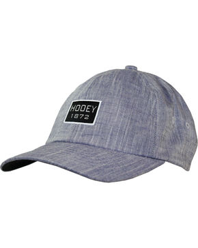 Hooey Men's Breezy Relaxed Six Panel Baseball Cap , Blue, hi-res