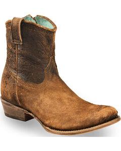 Corral Women's Lamb Abstract Short Boots - Round Toe, , hi-res