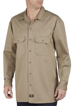 Dickies Heavyweight Cotton Work Shirt - Big and Tall, , hi-res