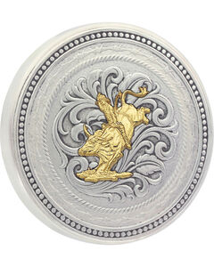 Montana Silversmiths New Traditions Stars and Barbed Wire Bullrider Snuff Lid, , hi-res