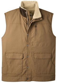 Mountain Khakis Men's Ranch Shearling Vest, Brown, hi-res