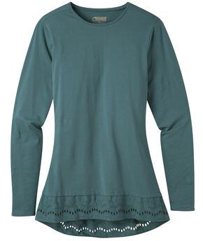 Mountain Khakis Women's Erin Eyelet Shirt, Green, hi-res