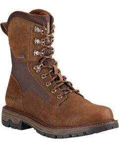 Ariat Men's Pebbled Conquest Waterproof Hunting Boots - Round Toe, , hi-res