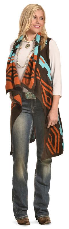 Cowgirl Justice Women's Sedona Sky Vest , , hi-res