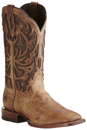 Ariat Men's Wheat Wildfire Boots - Wide Square Toe, Wheat, hi-res