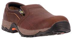 McRae Men's Poron XRD Met Guard Slip-On Work Shoes - Composite Toe, , hi-res