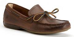 Frye Men's Lewis Tie Shoes, Dark Brown, hi-res
