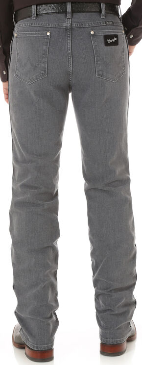 Wrangler Men's Cowboy Cut Silver Edition Slim Fit Jeans, Grey, hi-res