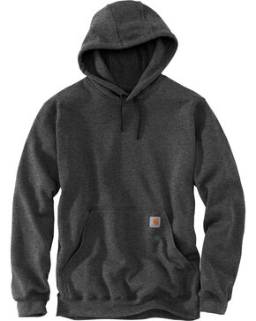 Carhartt Hooded Work Sweatshirt, Charcoal Grey, hi-res