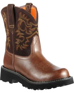 Ariat Fatbaby Cowgirl Boots - Round Toe, , hi-res