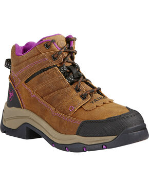 Ariat Women's Buck Terrain Pro Boots , Rust, hi-res
