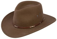 Stetson Wildwood Acorn Crushable Wool Felt Hat, , hi-res