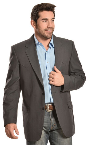 Circle S Men's Black Odessa Sport Coat, Black, hi-res