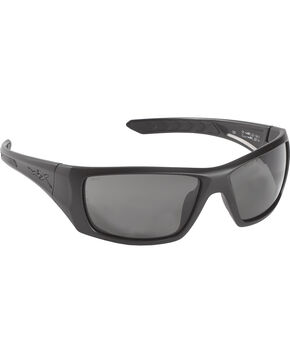 Wiley X Nash Non-Polarized Sunglasses , Black, hi-res