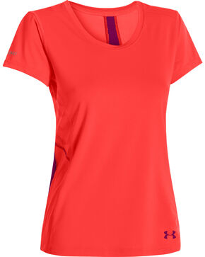 Under Armour Women's ArmourVent Chilling T-Shirt, Coral, hi-res