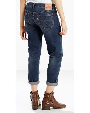 Levi's Women's Boyfriend Jeans - Straight Leg , Indigo, hi-res