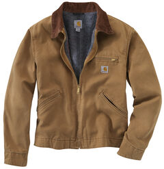 Carhartt Duck Detroit Blanket Lined Canvas Jacket - Big & Tall, , hi-res
