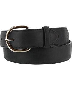 Cody James Men's Black Leather Belt, , hi-res