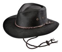 Outback Trading Co. Grizzly Oilskin Hat, , hi-res