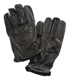 Interstate Leather Driving Gloves w/ Wrist Closure, , hi-res
