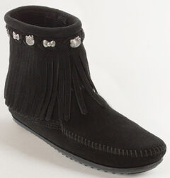 Minnetonka Women's Hello Kitty 40th Anniversary Fringe Boots, , hi-res