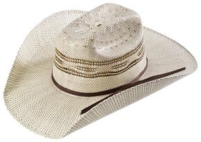 Twister Kids' Two-tone Bangora Cowboy Hat, Natural, hi-res